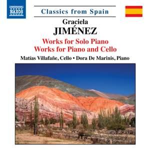 Graciela Jiménez: Works for Piano and Cello