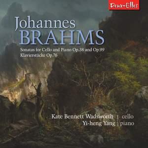Brahms: Sonatas for Cello and Piano & Klavierstucke Op. 76 Product Image