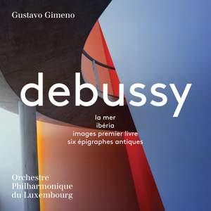 Debussy: La Mer, Iberia, Images Premier Livre, Six Epigraphes Antiques Product Image