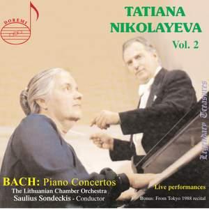 Tatiana Nikolayeva, Vol. 2 - Bach: Piano Concertos