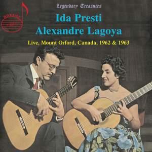 Presti & Lagoya, Live from Mount Orford, Canada, 1962 & 1963