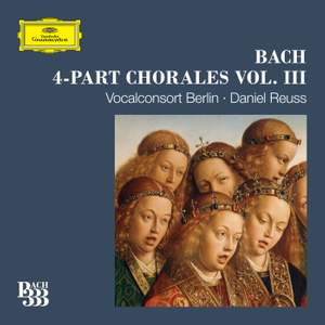 Bach 333: 4-Part Chorales - Vol. 3 Product Image