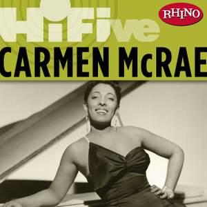 Rhino Hi-Five: Carmen McRae [Live]
