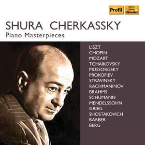 Shura Cherkassky Piano Masterpieces