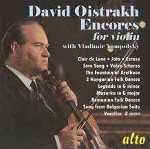 David Oistrakh: Encores