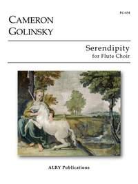Cameron Golinsky: Serendipity for Flute Choir