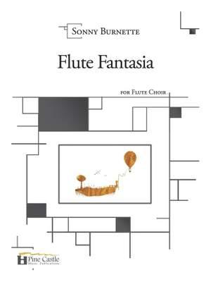 Sonny Burnette: Flute Fantasia for Flute Choir