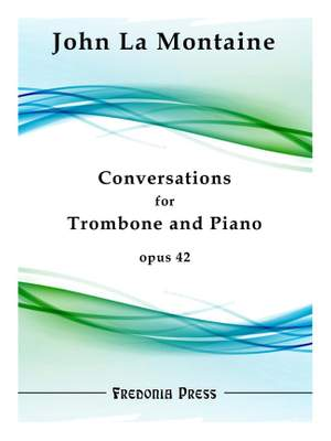 John La Montaine: Conversations for Trombone and Piano Product Image