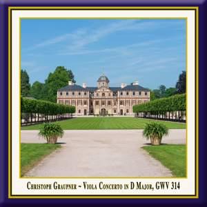 Graupner: Viola Concerto in D Major, GWV 314 (Live) Product Image