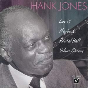 Live At Maybeck Recital Hall, Vol. 16 Product Image