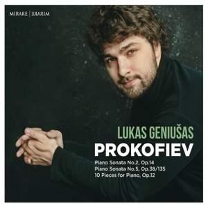 Prokofiev: Piano Sonatas Nos. 2 & 5