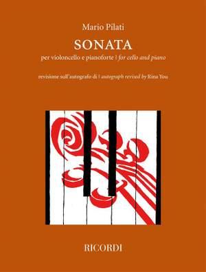 Mario Pilati: Sonata per violoncello e pianoforte