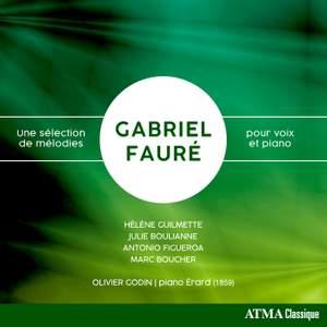 Fauré: Une sélection de mélodies pour voix et piano
