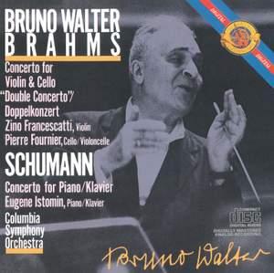 Brahms: Double Concerto & Schumann: Piano Concerto