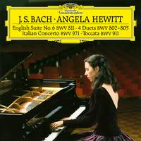 JS Bach: Italian Concerto, Toccata, Four Duets & English Suite