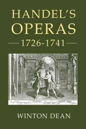 Handel's Operas, Volume II: 1726-1741