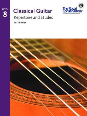 Guitar Repertoire and Etudes 8