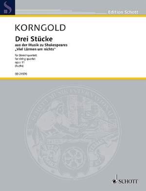Korngold, E W: Drei Stücke op. 11