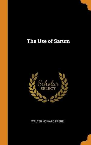 The Use of Sarum