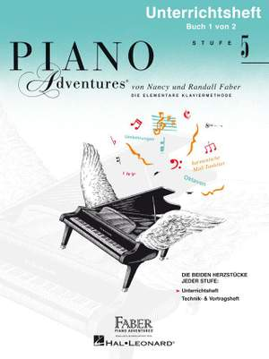 Nancy Faber_Randall Faber: Piano Adventures: Unterrichtsheft Stufe 5 Product Image