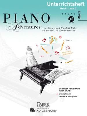 Nancy Faber_Randall Faber: Piano Adventures: Unterrichtsheft Stufe 5 mit CD Product Image