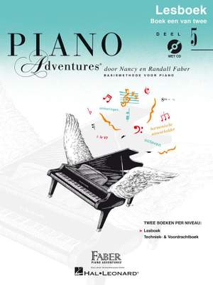Nancy Faber_Randall Faber: Piano Adventures: Lesboek Deel 5 +CD Product Image