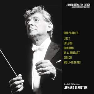 Rhapsodies: Liszt - Enescu - Brahms - Mozart - Dinicu - Wolf-Ferrari