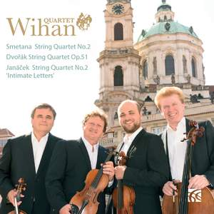 Smetana, Dvořák & Janáček: Works for String Quartet Product Image