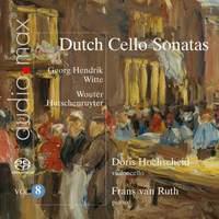 Dutch Cello Sonatas Vol. 8