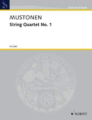 Mustonen, O: String Quartet No. 1