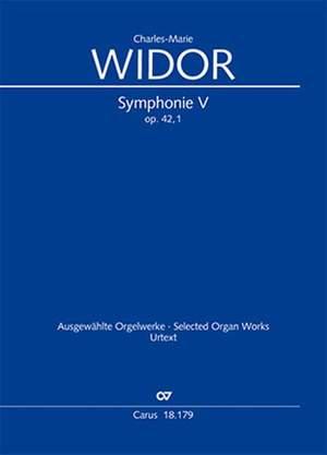 Widor: Symphonie No. V pour Orgue op. 42,1