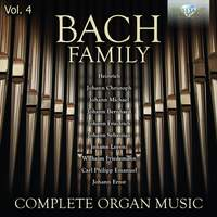 Bach Family: Complete Organ Music, Vol. 4