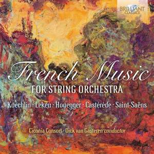 French Music For String Orchestra Product Image