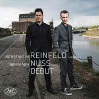 Debut: Works By Bach, Korzynski, Nuss