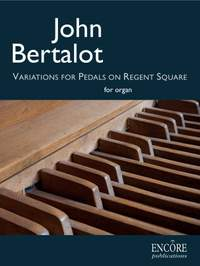 John Bertalot: Variations for pedals on 'Regent Square'