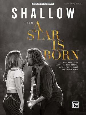 Various: Shallow (A Star Is Born) PVG Product Image