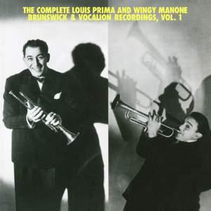 The Complete Louis Prima And Wingy Manone Brunswick & Vocation Recordings, Vol 1