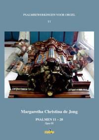 Margreeth de Jong: Psalmbewerkingen voor Orgel II