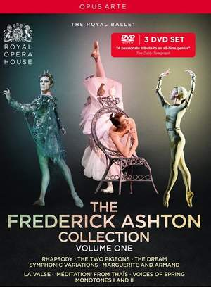 The Frederick Ashton Collection, Volume 1 Product Image