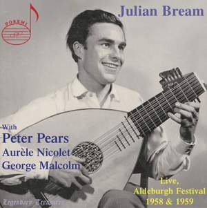 Julian Bream: Live from Aldeburgh Festival 1958 & 1959