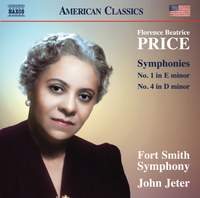 Florence Beatrice Price: Symphonies Nos. 1 & 4