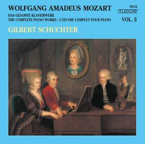 Mozart: The Complete Piano Works, Vol. 3