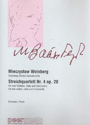 Mieczyslaw Weinberg: String Quartet No. 4, Op. 20