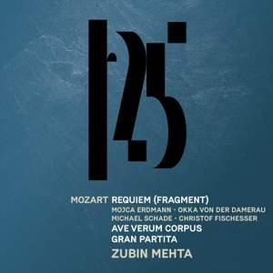 Mozart: Serenade No. 10, 'Gran partita', Requiem (Fragment), Ave verum corpus [Live] Product Image
