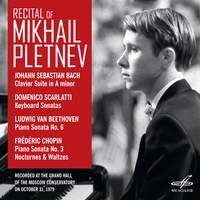 Recital of Mikhail Pletnev: Moscow, October 31st, 1979