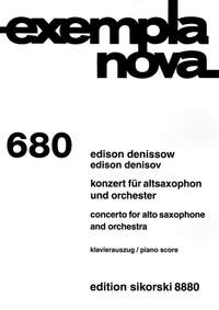 Denisov, E: Concerto for Alto Saxophone and Orchestra