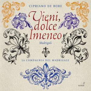 Rore: Vieni dolce Himineo & Other Madrigals Product Image