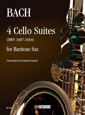 Bach, J S: 4 Cello Suites  BWV1007-1010