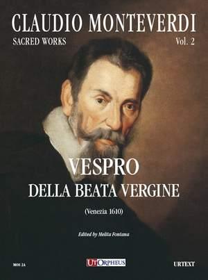 Monteverdi, C: Vespro della Beate Vergine (Venezia 1610)   Volume 2