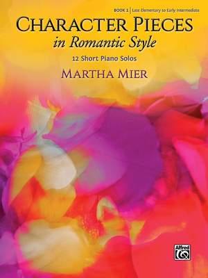 Mier, Martha: Character Pieces 1 (piano)